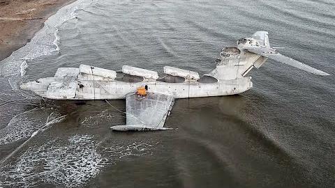 里海怪物 地效飞行器