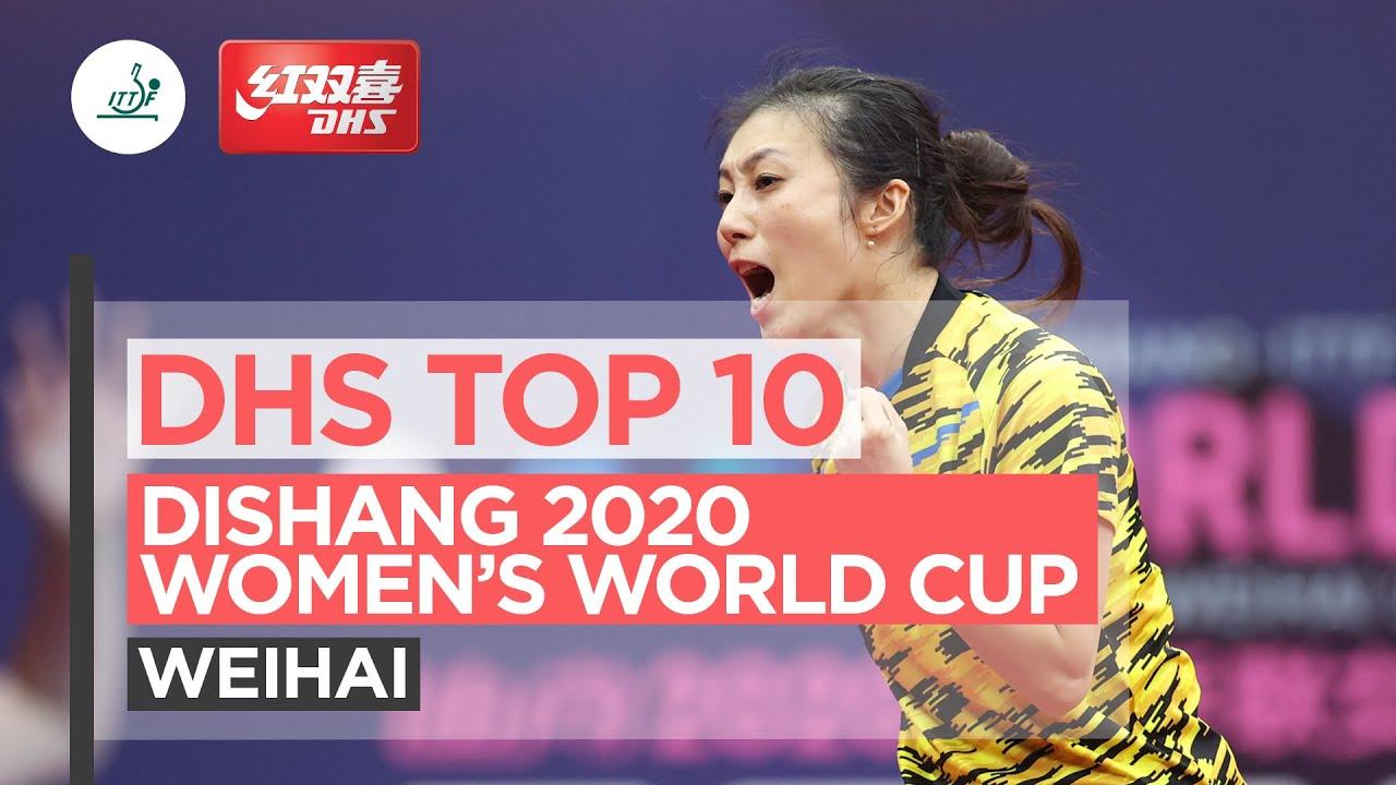 2020乒乓球女子世界杯十佳球