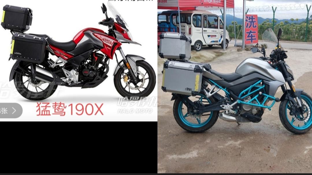 【moto小潘】猛鸷190X春风250nk的骑行感受和对比