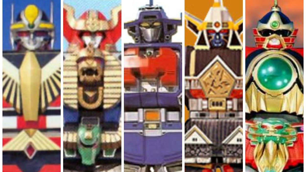 【超级战队大百科】历代战队一号机器人 上篇