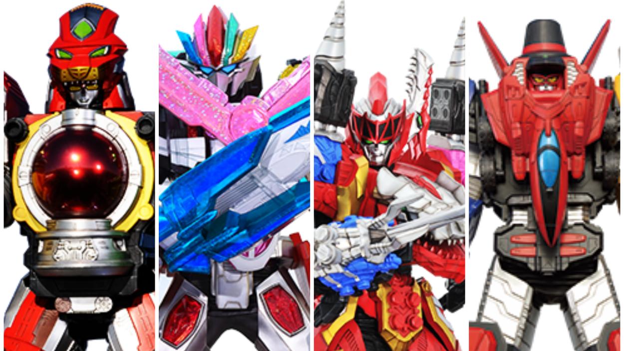 【超级战队大百科】历代战队一号机器人 下篇