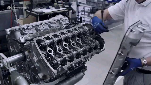宾利W12发动机制造组装全过程