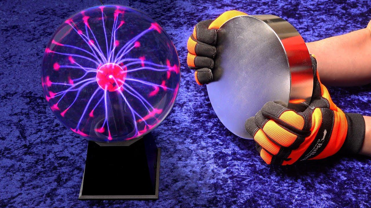 把世界上最强的磁铁靠近等离子球会怎样?震撼的画面来了!