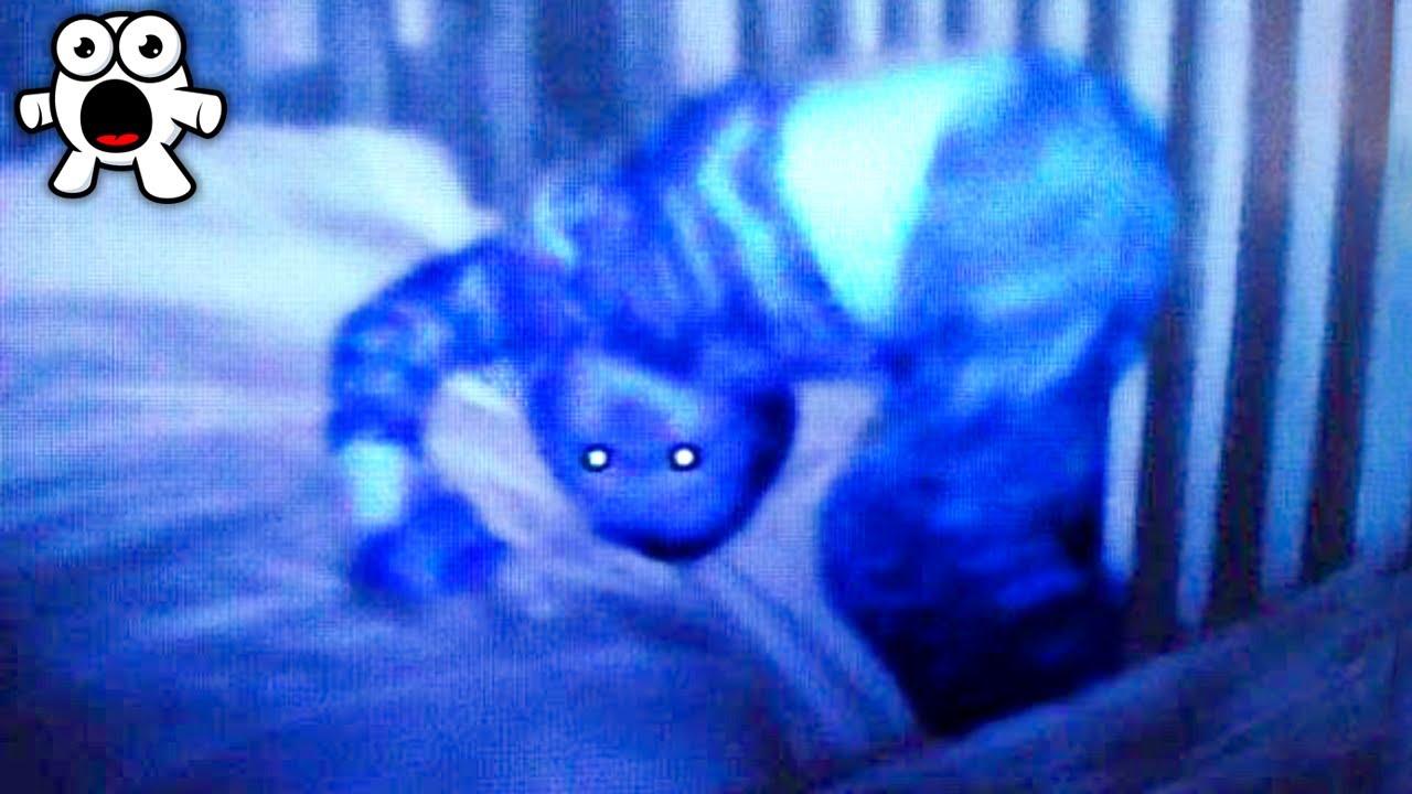 婴儿监视器拍下的那些恐怖离奇瞬间,太诡异了!