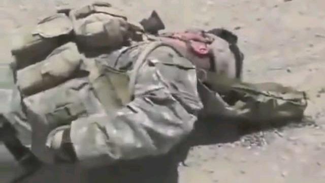 【阿富汗战争】塔利班狙击手偷袭美国陆军士兵