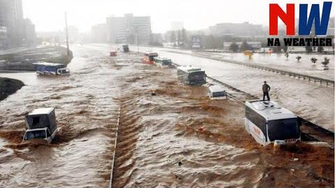 【自然灾害】暴雨洪水视频【2020】