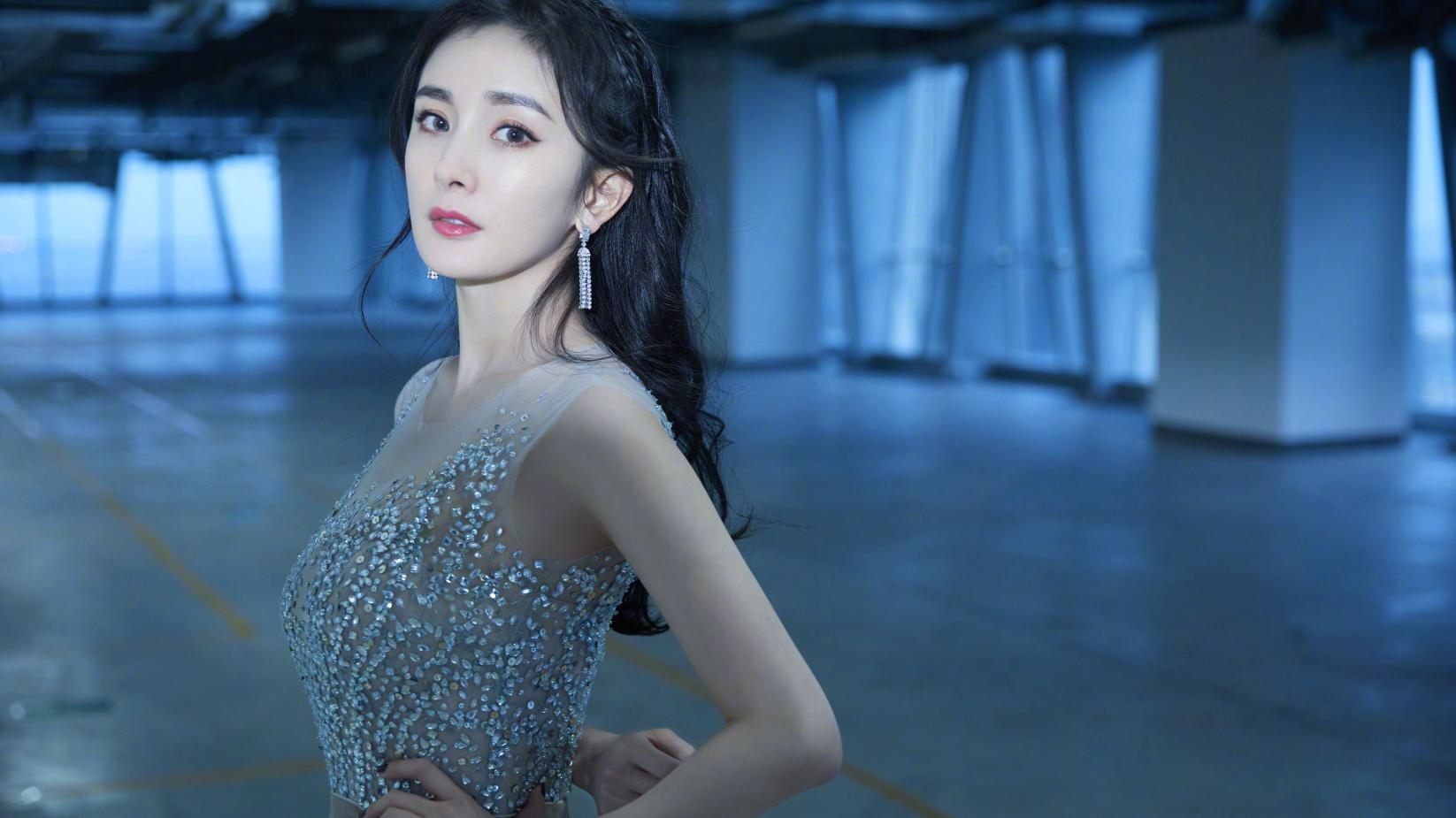杨幂2019微博之夜采访