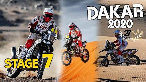 2020达喀尔-赛段7:Riyadh - Wadi Al Dawasir.