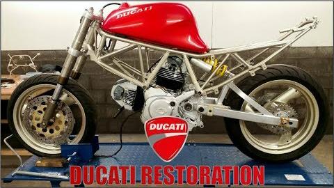 修复翻新一台1995年的杜卡迪600SS(Supersport)-EP3.5