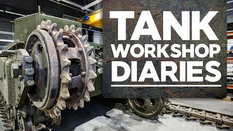 Jagdpanther(猎豹式驱逐战车)引擎|Ep2 |坦克车间日记|坦克博物馆