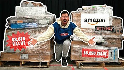 花$1,250买了价值 $11,736亚马逊退货大礼包,是血赚还是血亏