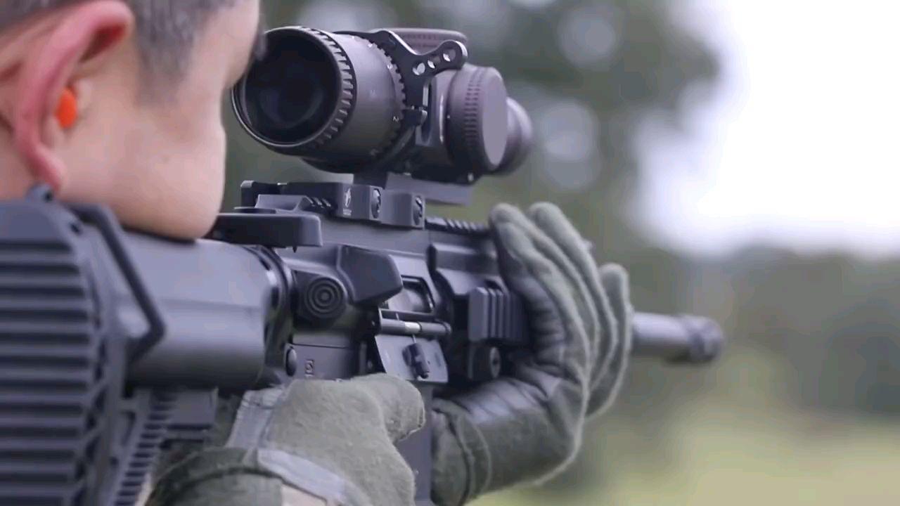 HK416远程精确射手训练,德国工艺真是完美!