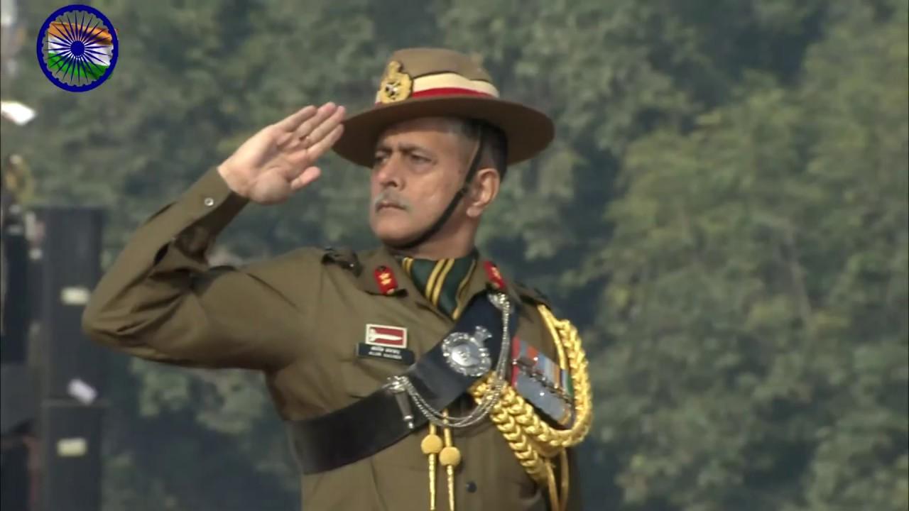 2020年印度共和国日阅兵仪式