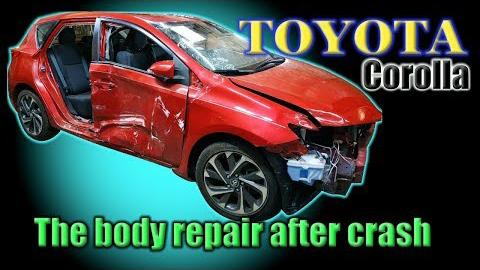 修复一辆丰田卡罗拉