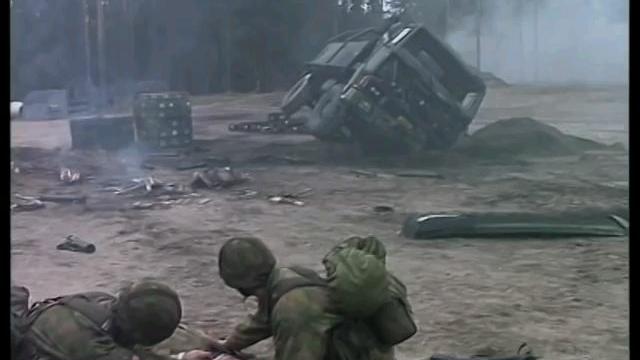 """芬兰国防军1998年军教片""""战场""""-当国土沦为战场时...."""