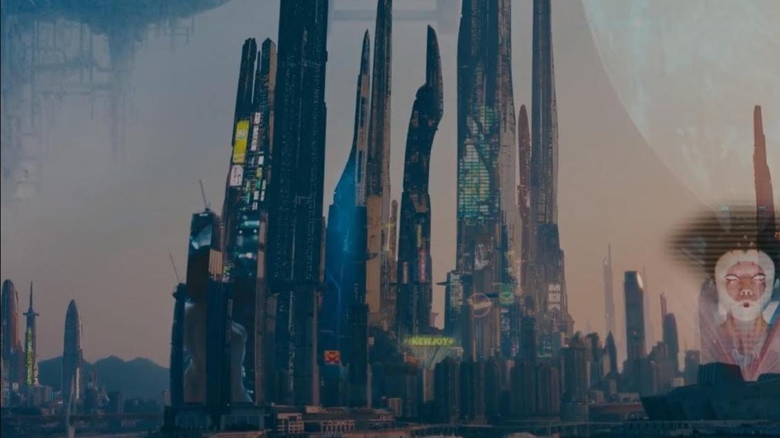 《未来之城》重庆:赛博朋克与古风糅合得恰到好处