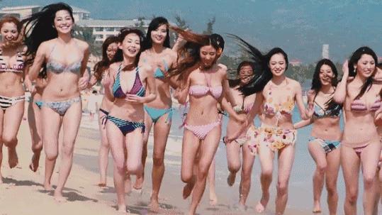 SNH48梦想岛MV泳装拍摄花絮