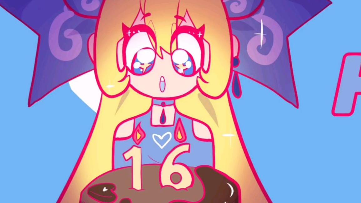 【animation meme】close up祝我生日快乐!