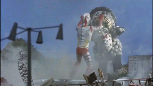 《怒吼吧直树!趁现在》詹伯Avs熊猫怪兽迪斯扎格王。
