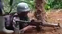 [军事训练]印尼士兵耳膜摧毁者