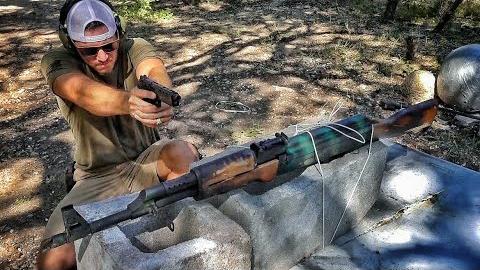 【爆破牧场】多少发子弹能打坏AK47?