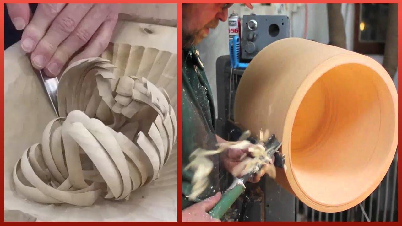 神奇的木工雕刻技术,木材加工工具 4