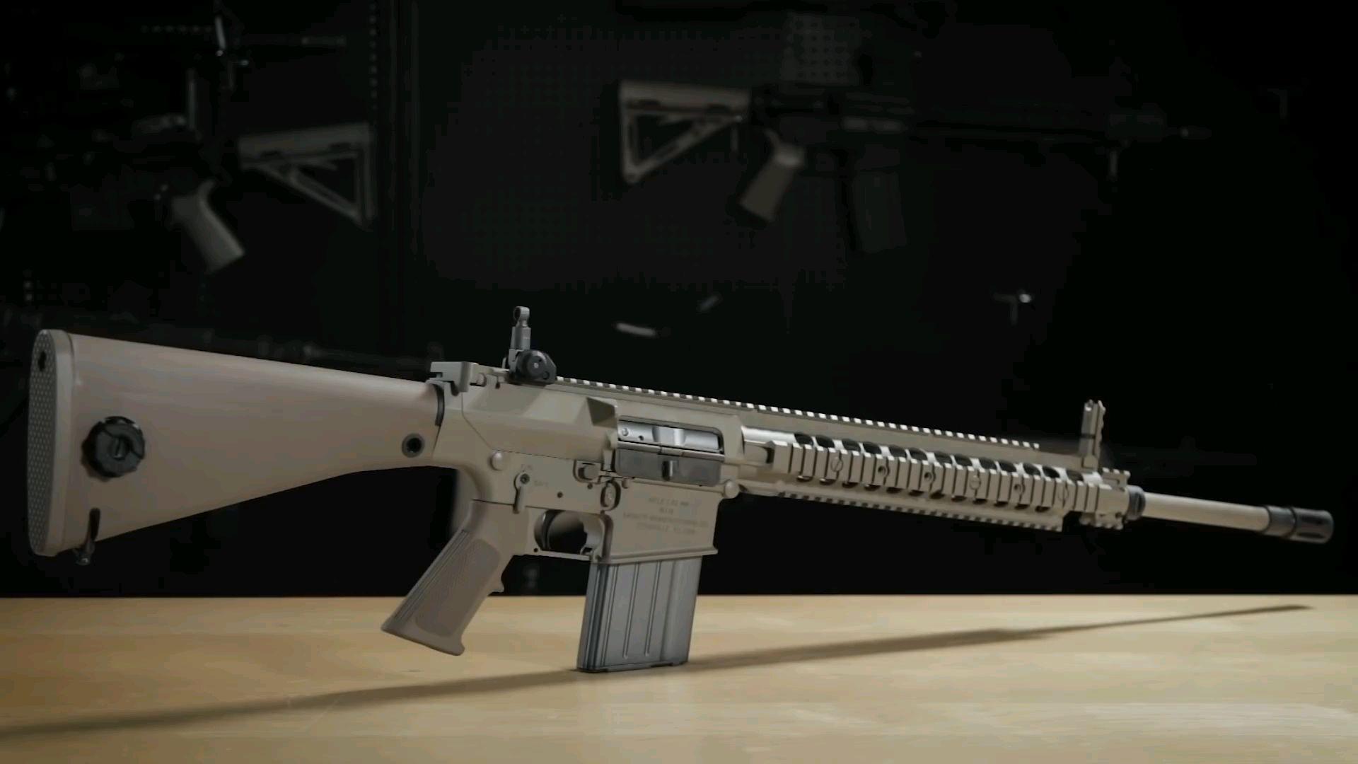 【Redwolf Airsoft】VFC KAC M110 气动回膛半自动精确小铳介绍