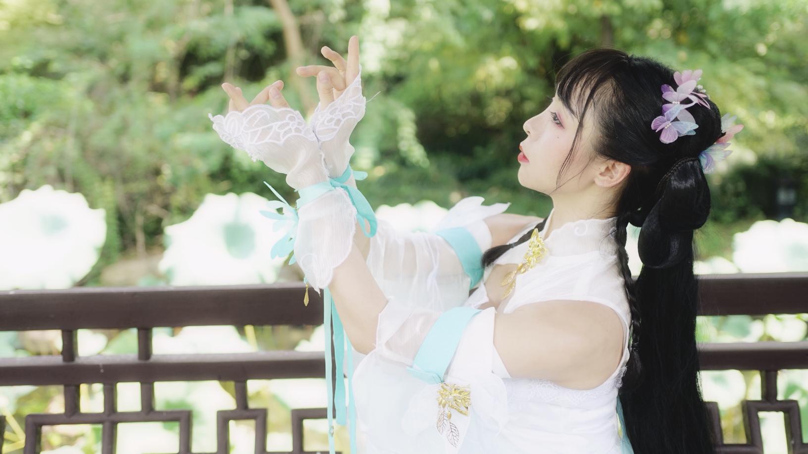 【爱李】落花情-古风(翻跳)