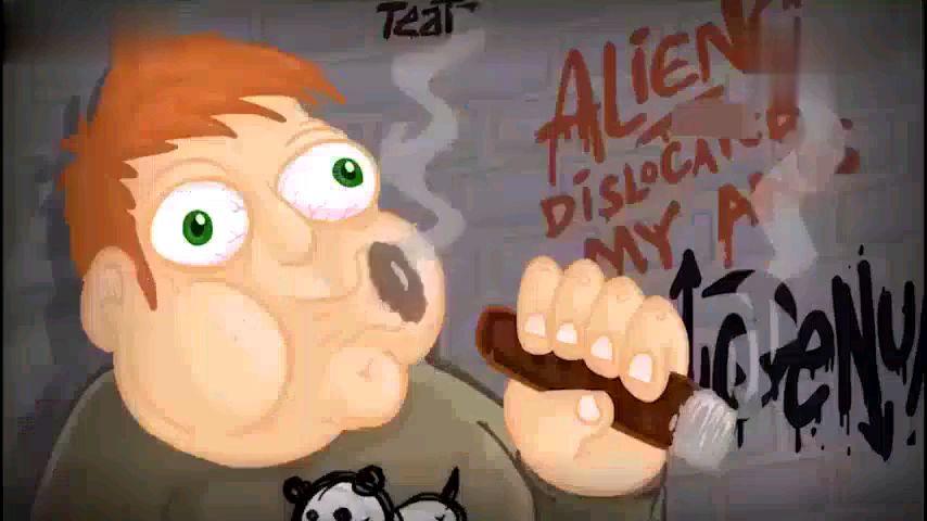 国外硬核戒烟动画
