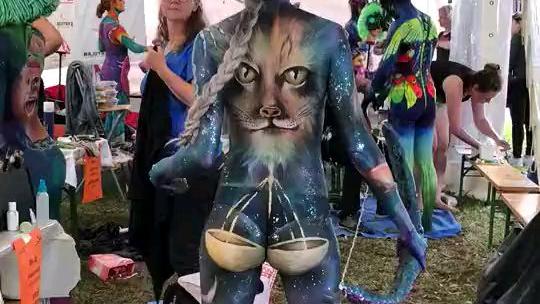 人体艺术彩绘