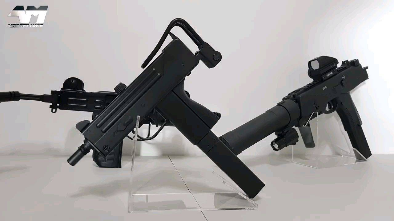 秒36的MAC-11 CO2 GBB Airsoft 开箱