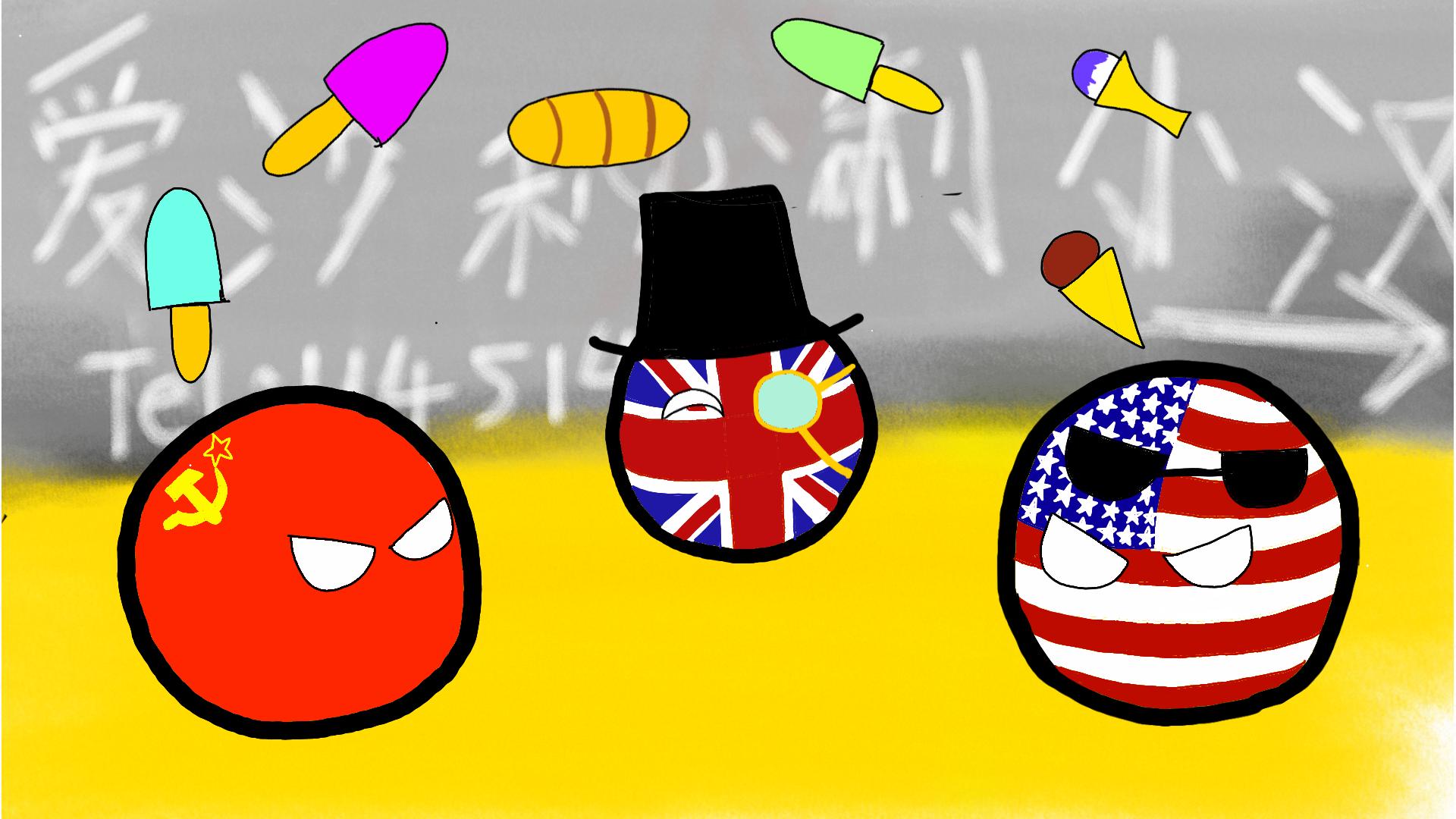 [波兰球]冷战内幕