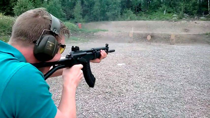 芬兰军制式M95突击步枪