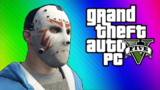 VanossGaming GTA 5 Online有趣时刻 - 拍拍俠 & 保卫机棚!