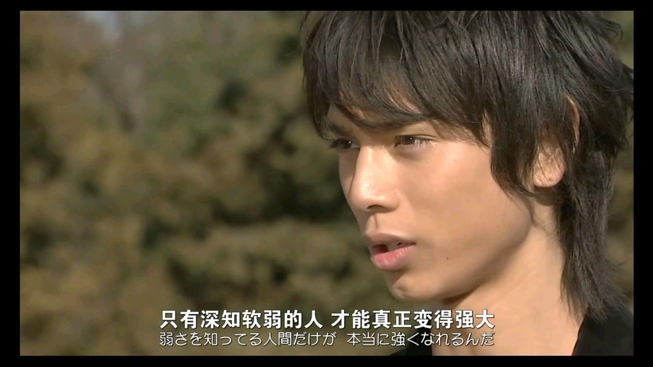 #假面骑士KATUTO#只有深知软弱的人,才能真正变得强大
