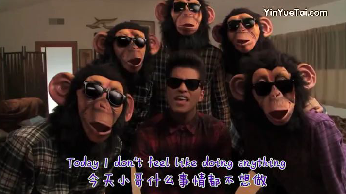 【经典英文歌曲】: The Lazy Song–Bruno Mars