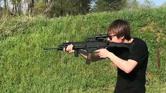 【第二弹】蝎式EVO 3冲锋枪射击