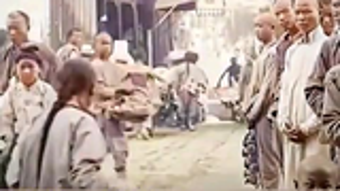 【珍贵影像】1900—1913年 上海 东京 新德里 巴黎 柏林 纽约 (彩色重制版)