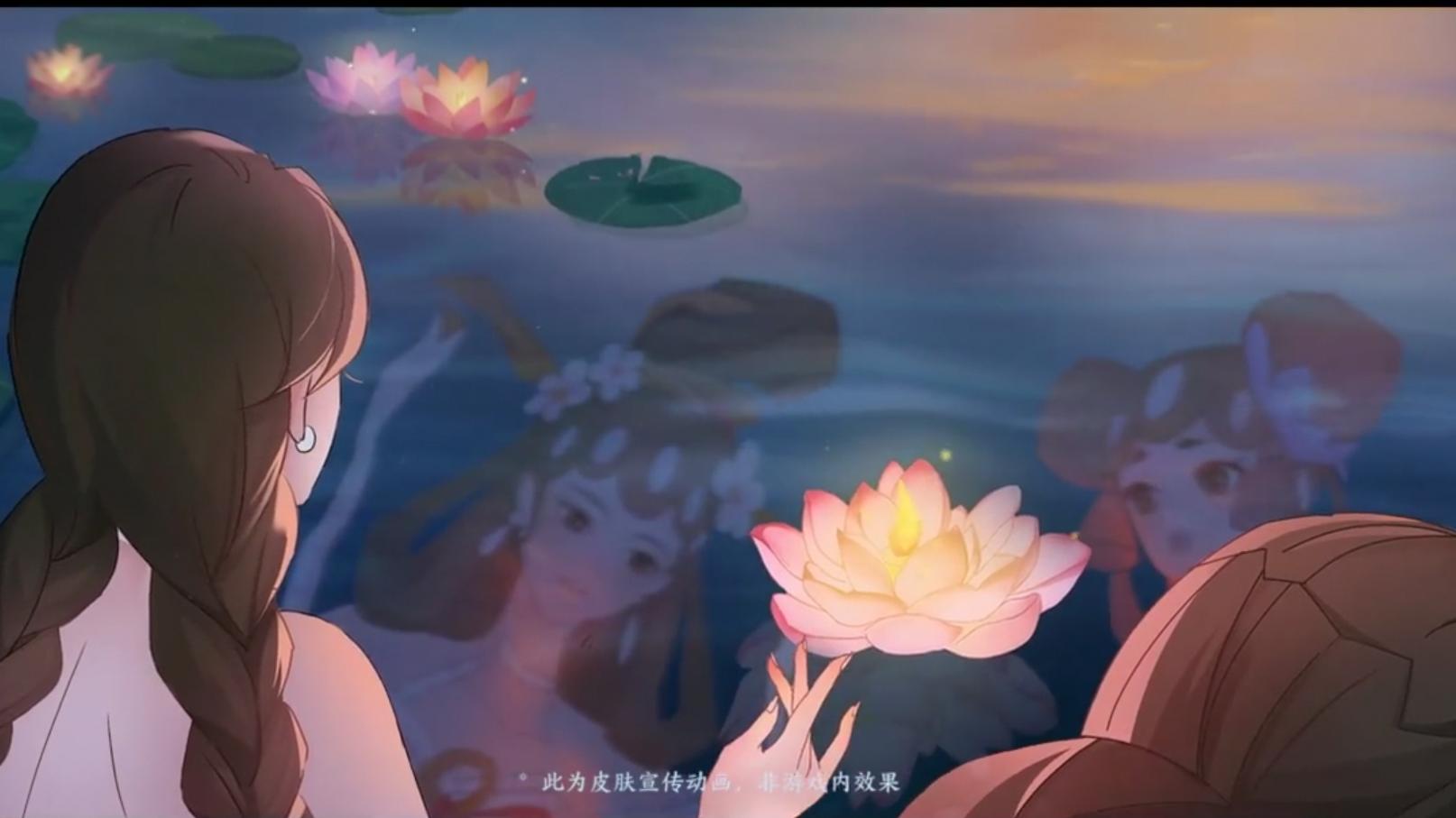 大小乔青白蛇皮肤宣传动画,姐妹再续今生缘【王者荣耀】
