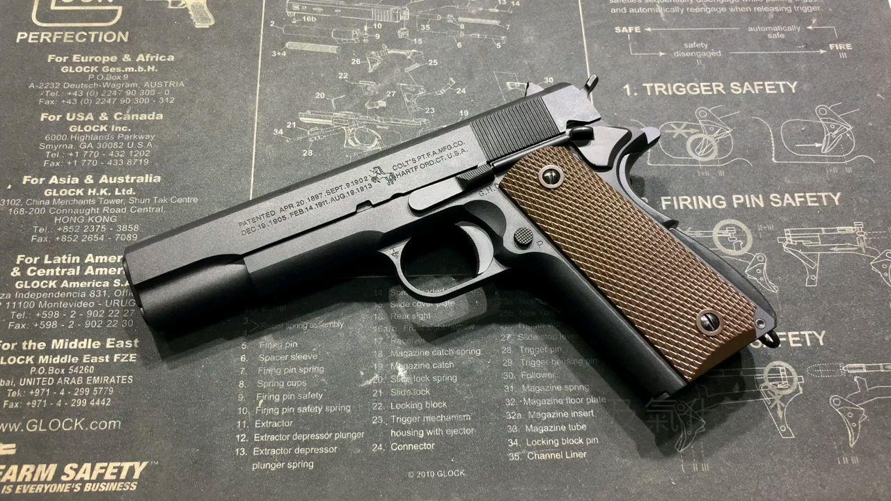 Cybergun Colt 1911 GBB 原厂开箱测评