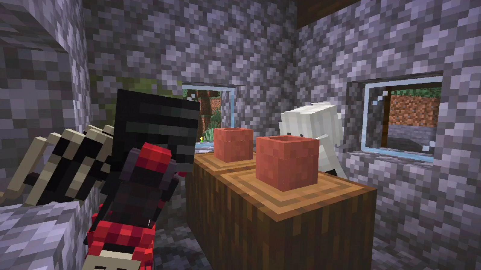 【Mc动画】[巨燃]《Minecraft训名传》第三集:爱恨情仇。