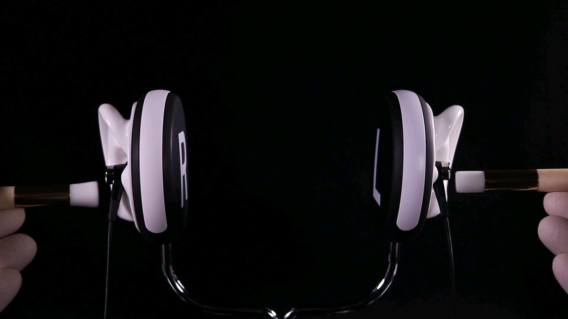【助眠】音蜜onmitsu   直击鼓膜的耳朵清洁  刺激舒适