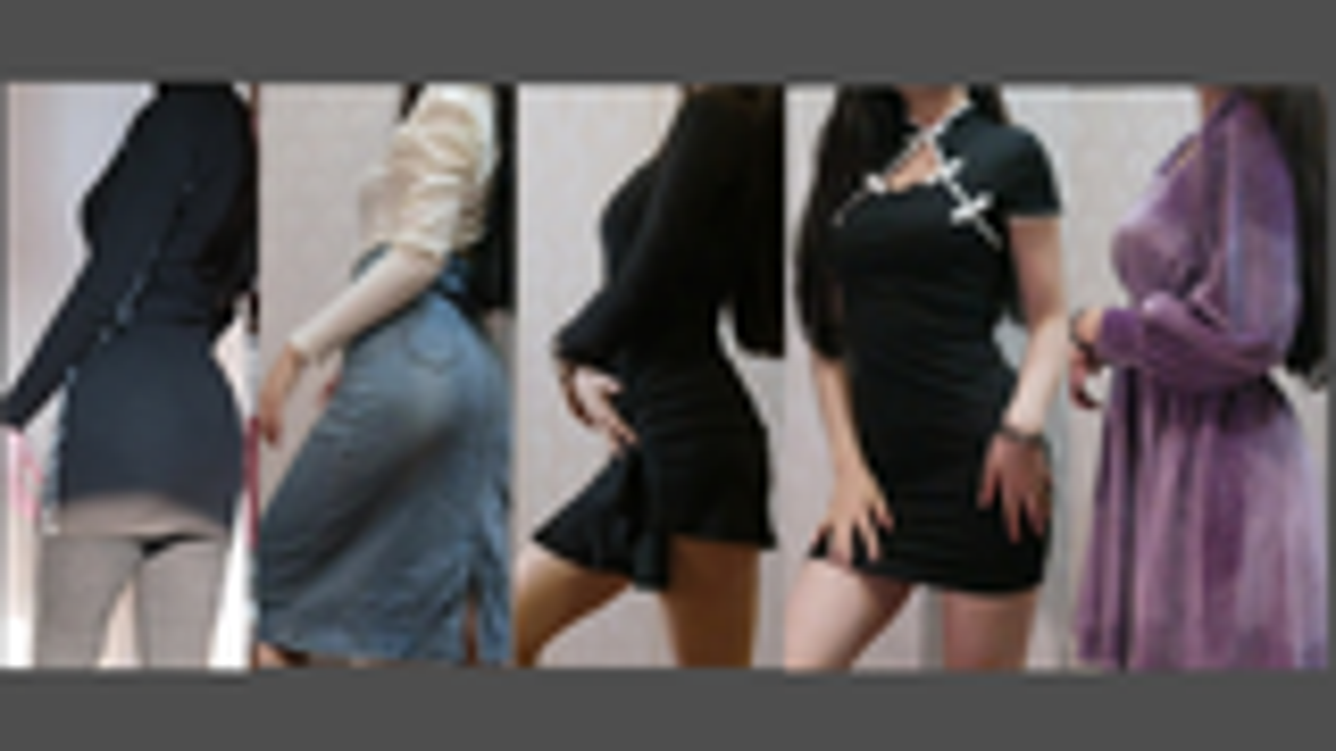 16岁微胖身材试穿欧美风 旗袍v领性感与生俱来