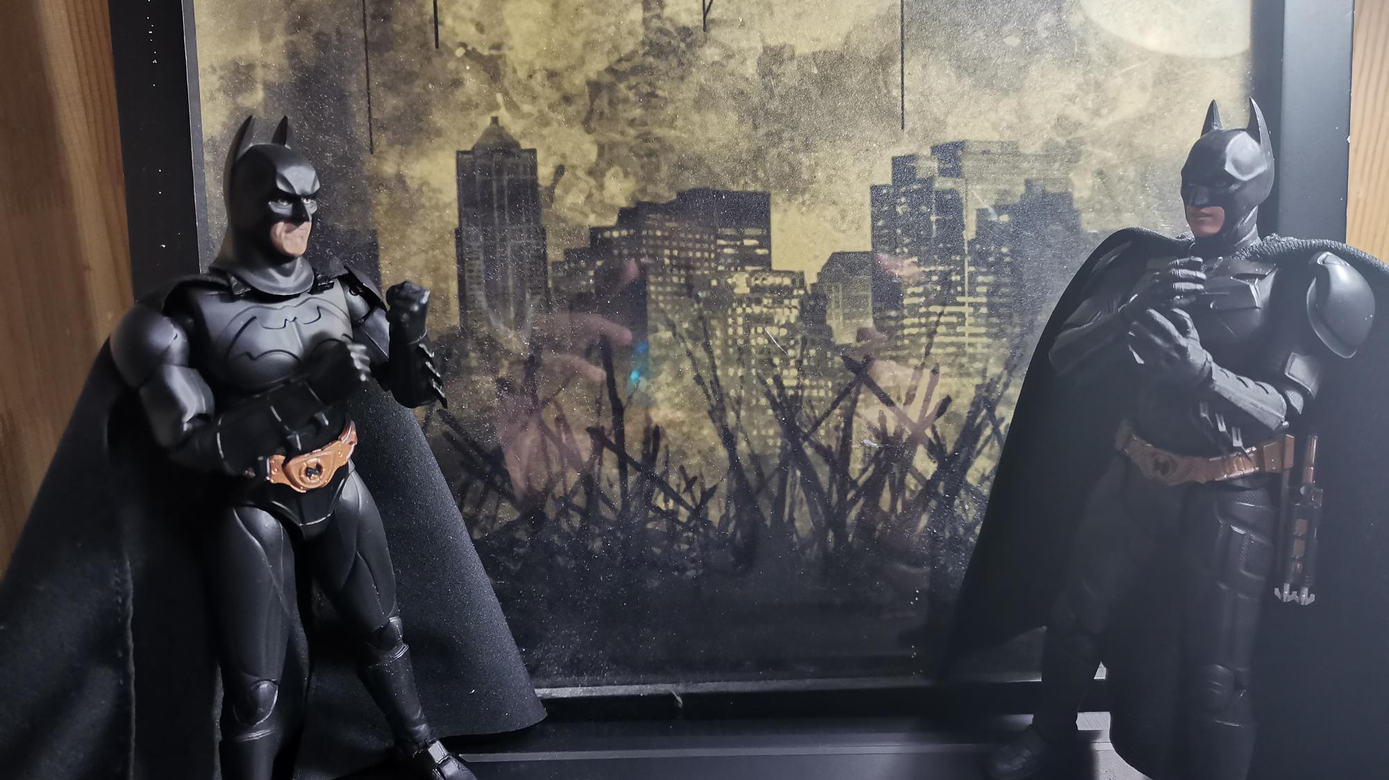 【JOKER的频道】总共大约价值800大洋的蝙蝠侠人偶把玩体验分享【万代shf】SOAPSTUDIO