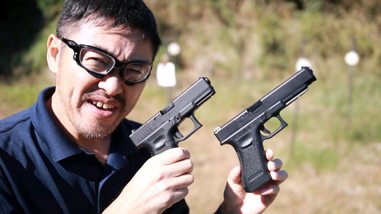 壕堺 TokyoMarui GBB Glock 19 vs 34