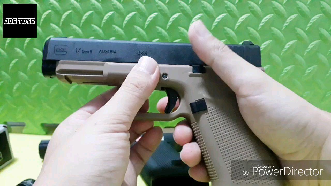 Umarex GBB  Glock 17 Gen 5  VS 19X