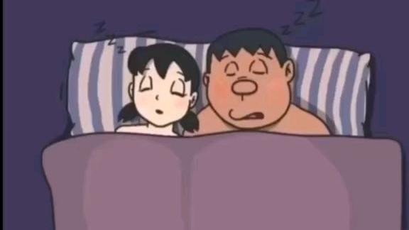 总觉得静香能和大熊在一起,可最后哆啦A梦走了静香上胖虎的床,大熊也不是原来的大熊了。