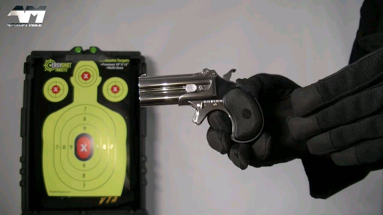 MARUSHIN DERRINGER   Gas Powered   Airsoft Unboxin