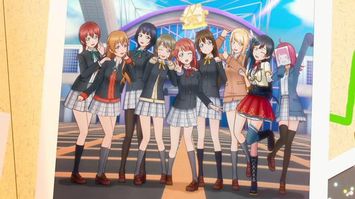 lovelive虹之咲学园偶像同好会TOKIMEKI Runners