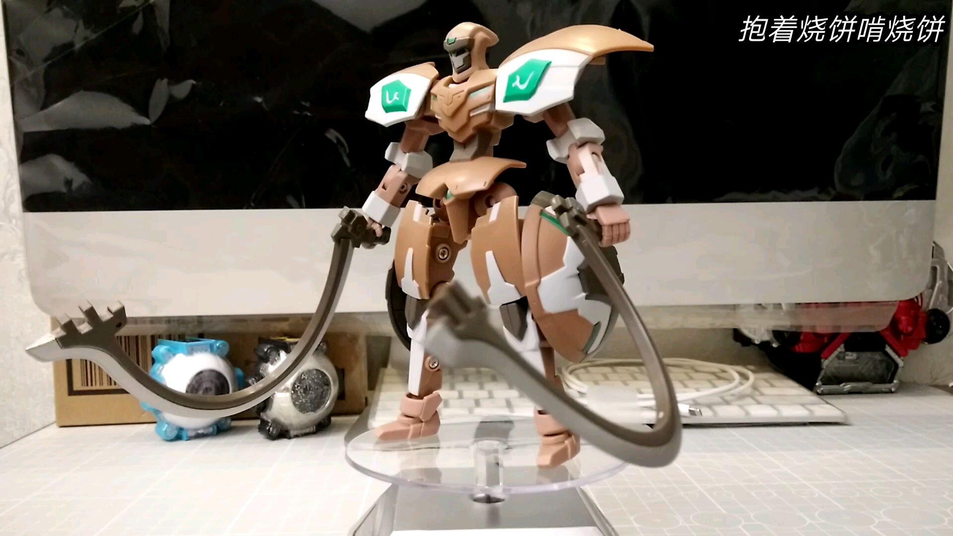 【玩具开箱】宇宙星神 五寸可动模型 土星神卡勒姆 蓝弧动画 灵动出品 开箱展示